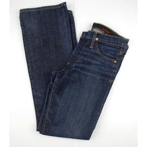 AG Adriano Goldschmied DarkWash Straight Leg Jeans